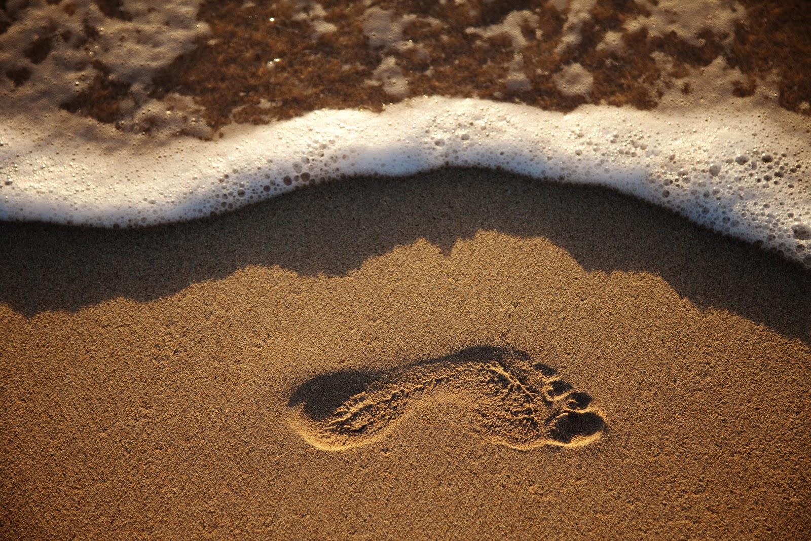 silent thots: st 10 : footprints in the sand