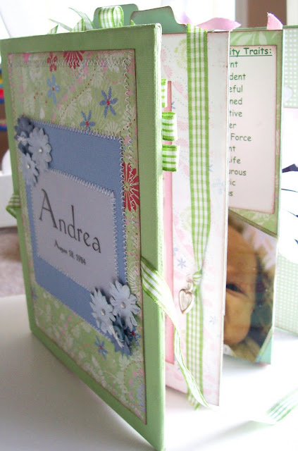 Baby Scrapbook Album & Keepsake Boxes