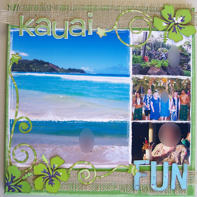 Hawaii Altered Canvas