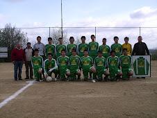 Campeão 2007/2008. Equipa de juvenis.