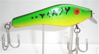 THE FISHING NEWS: KERMETT ADAMS CUSTOM MADE DORADO LURES ARE