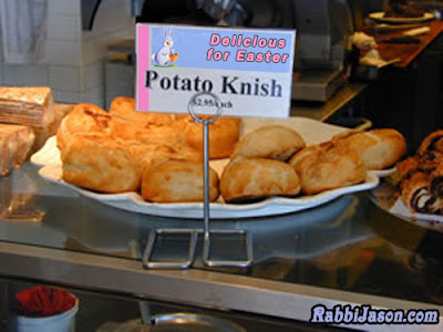 Easter Knish by Rabbi Jason Miller