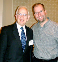Rabbi Harold Kushner and Rabbi Jason Miller