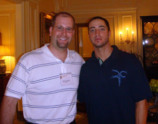 Ryan Braun and Rabbi Jason Miller