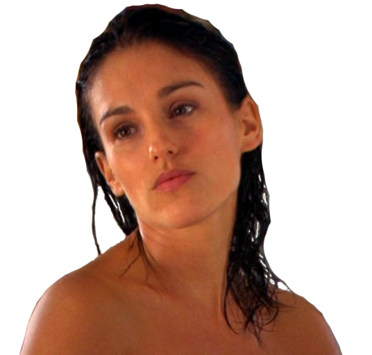 amy jo johnson nude in the shower