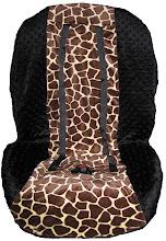 Joey Giraffe Black Minky