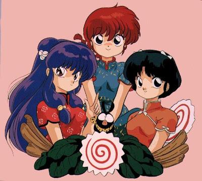 الانمي ينبوع الاحلام Ranma+Girls