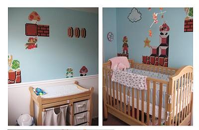 Curlyred A Design Blog Super Mario Bros Nursery