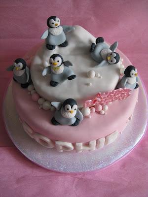 Olanos Happy Feet Birthday Cake