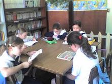 La lectura libre en Biblioteca.