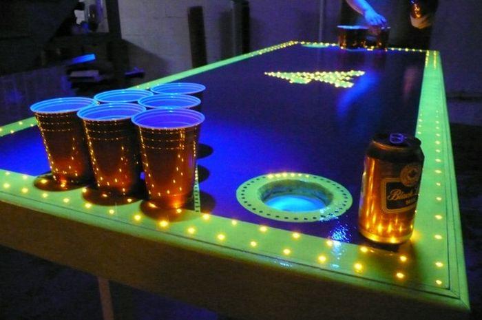 bier pong tisch pin up