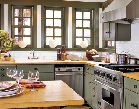 Kitchen Butcher Block Cabinets : High Street Market: Butcher Block Countertops