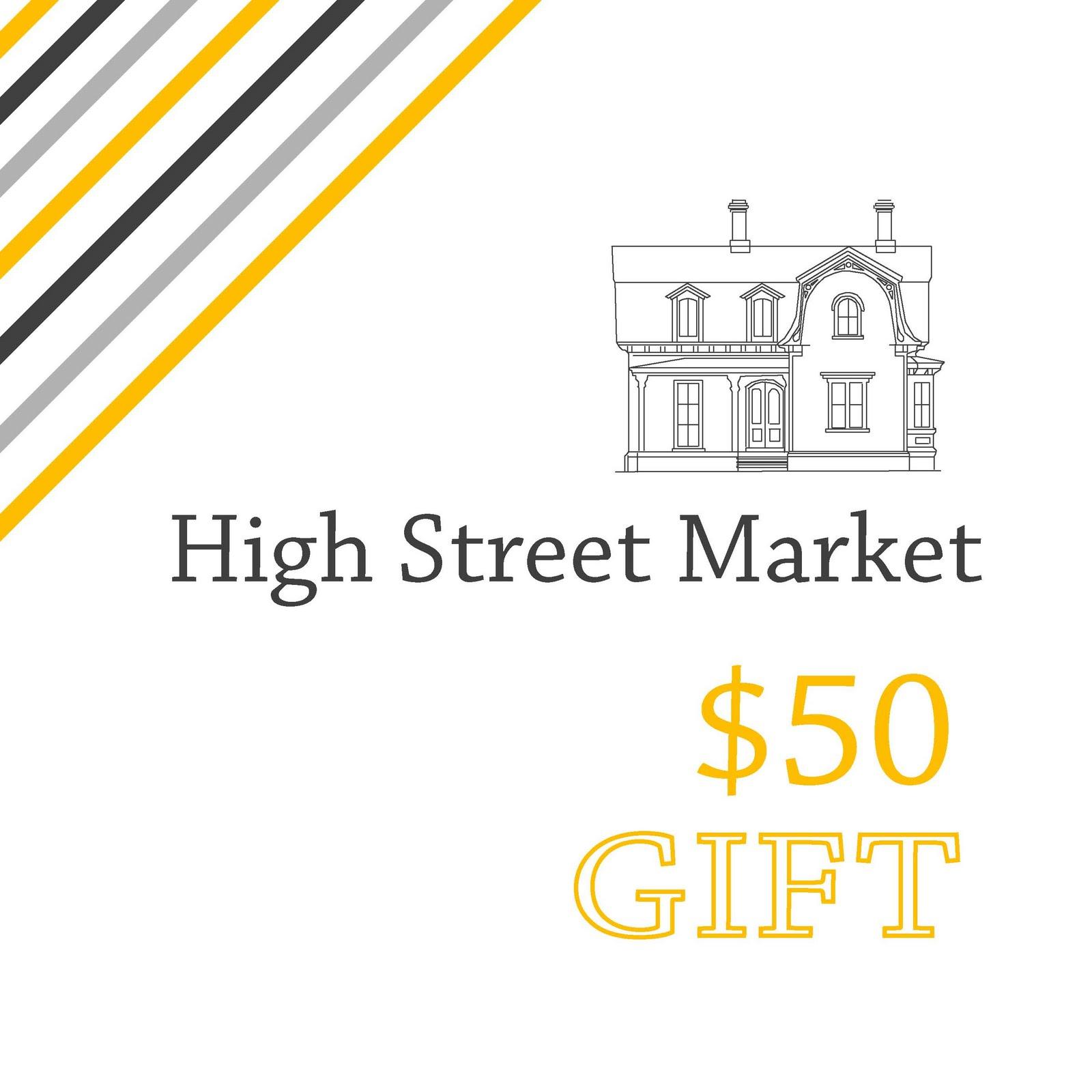High Street Market Architectural Trim Wainscoting: High Street Market: High Street Market Gift Certificates