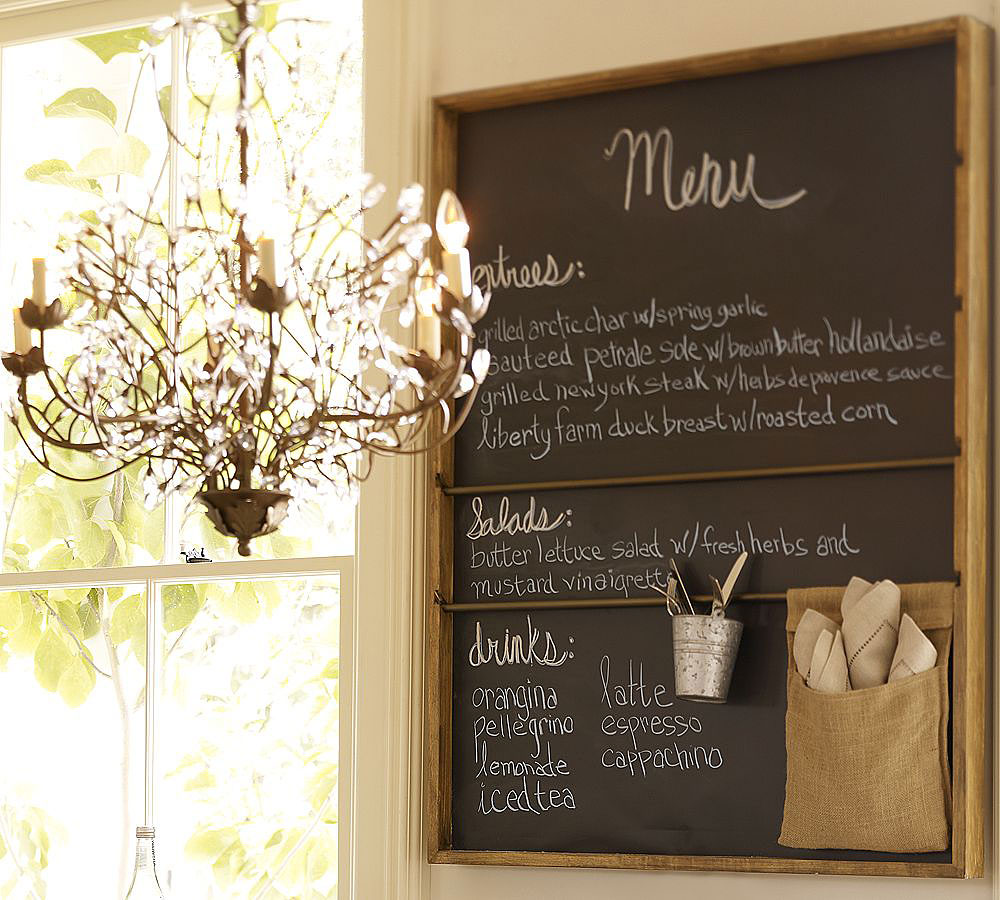 Chalkboards In The Kitchen