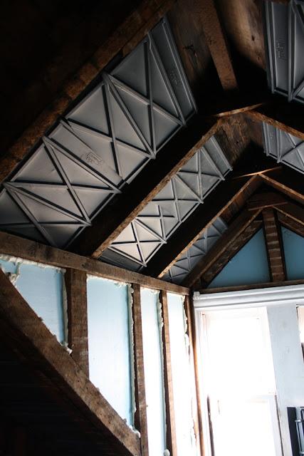 High Street Market 3rd Floor Insulation Prep