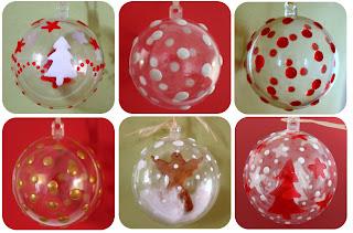 Mon quatre heures bricoleur: Décoration de boules de Noël