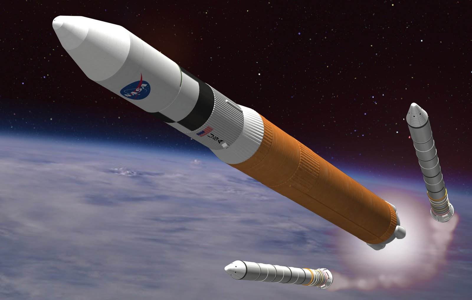 going to space rockets - photo #7