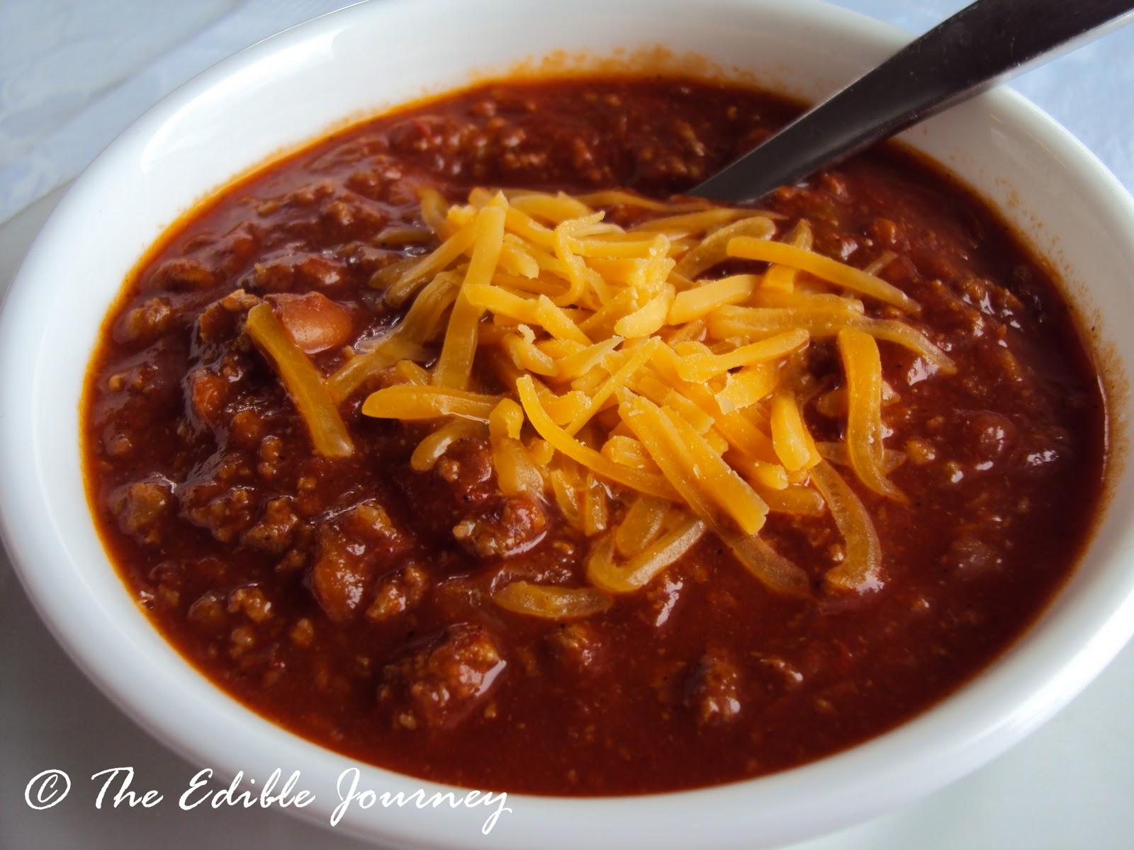 Americas Test Kitchen Ground Beef Chili