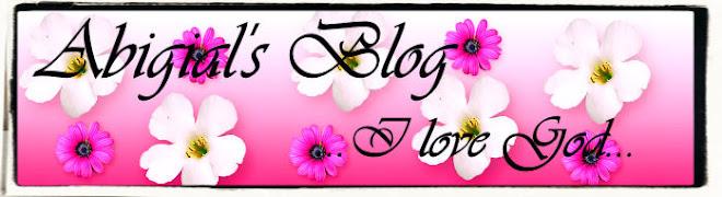 Abigail's Blog