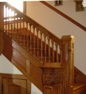 Architecture Design Home on Hand Crafted Oak Staircase Click On To Enlarge