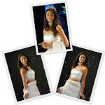Actress Illeana gorgeous in white