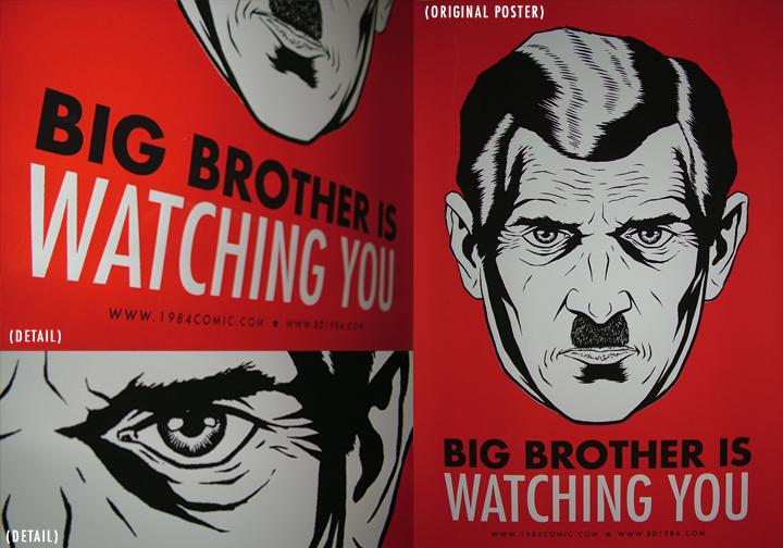 1984 essays on big brother