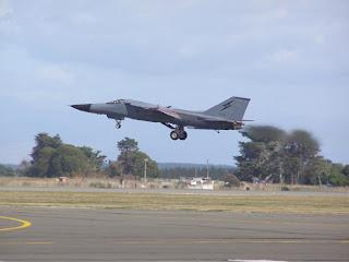 Australian F-111 - takeoff