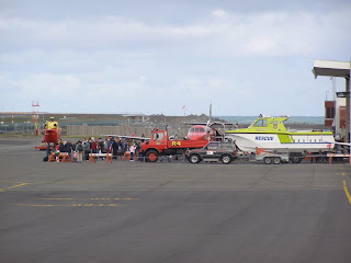 Lifeflight Open Day crowd/displays
