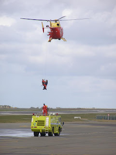 Helicopter winching