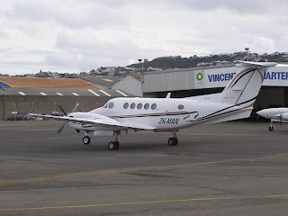 Beech King Air B200 ZK-MAN