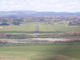 Short final Masterton runway 06