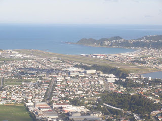 Departing Wellington