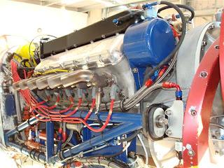 Kiwi Thunder Mustang engine