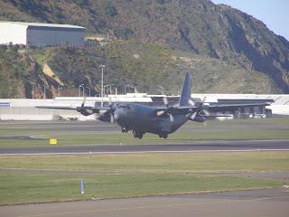 RNZAF C130 Hercules