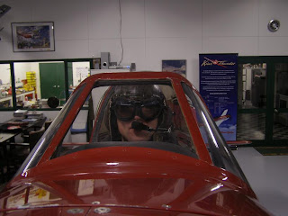 Rodney in the Thunder Mustang