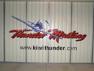 Thunder Mustang Hanger Doors