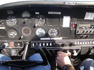 Grumman AA1C instrument panel