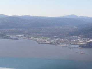 Looking north up the Hutt Valley