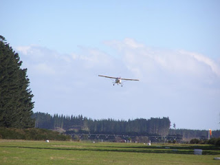NZFP - Foxpine Airpark - aircraft taking off