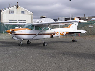 Cessna 172RG, ZK-EWP, Eagle Flight Training