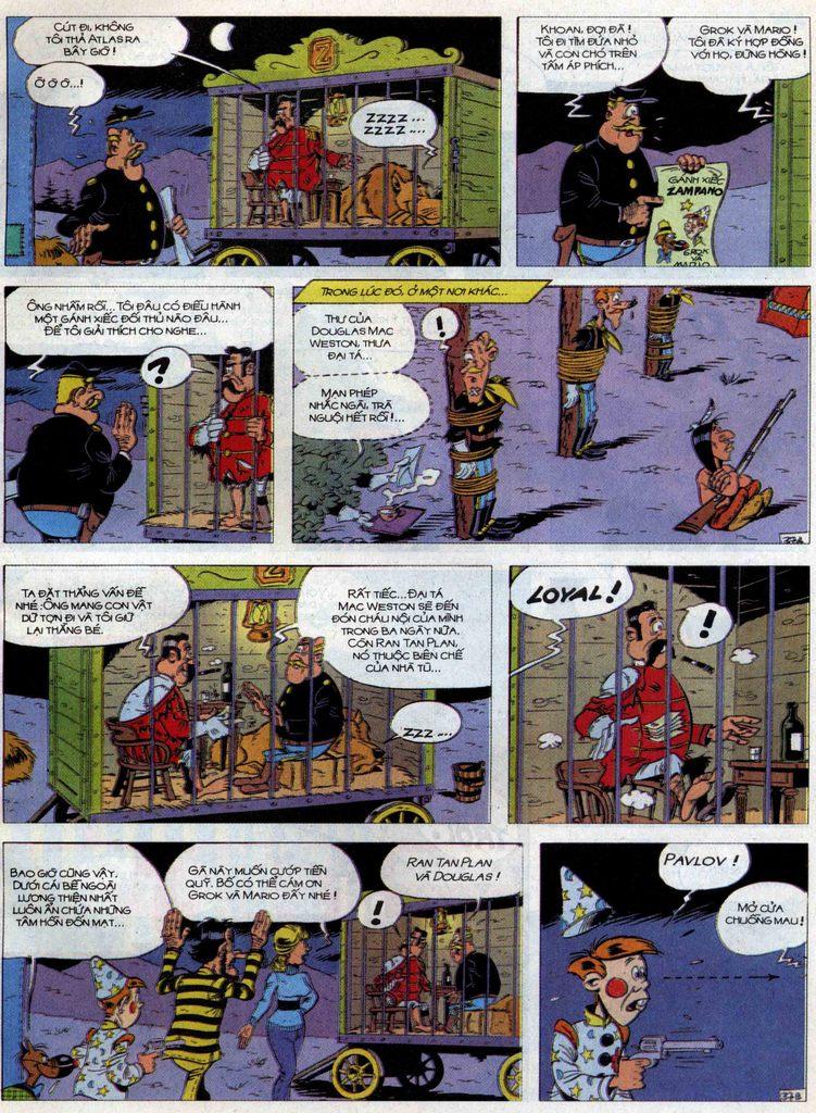 Lucky Luke tập 71 trang 37