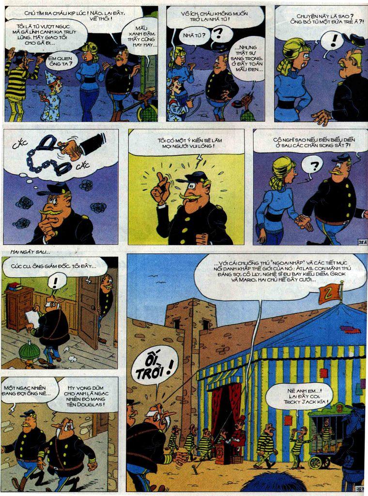 Lucky Luke tập 71 trang 38