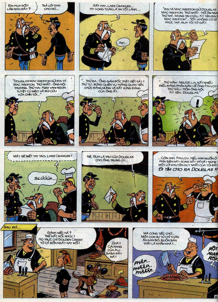Lucky Luke tập 71 trang 16