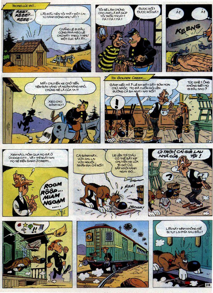 Lucky Luke tập 71 trang 21