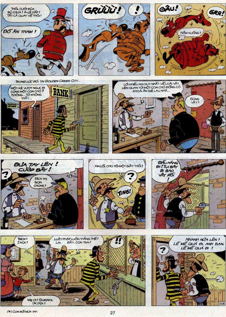 Lucky Luke tập 71 trang 25