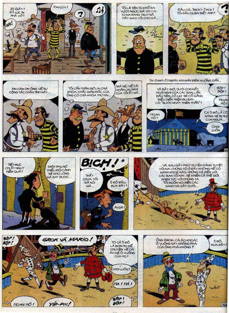 Lucky Luke tập 71 trang 26