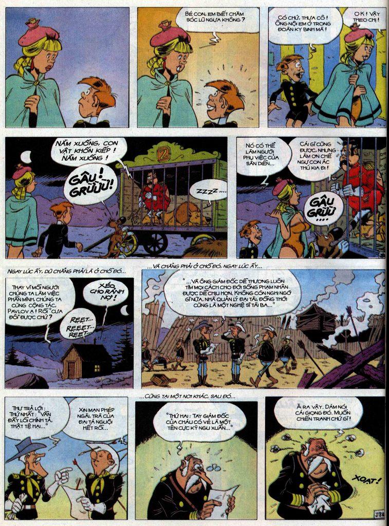 Lucky Luke tập 71 trang 28