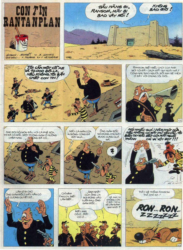 Lucky Luke tập 68 trang 1