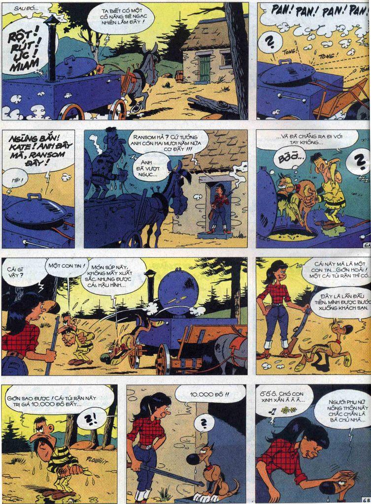Lucky Luke tập 68 trang 6