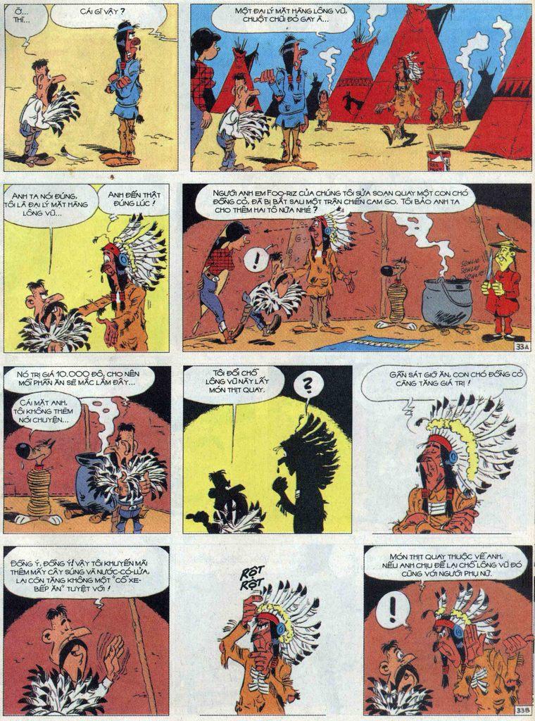 Lucky Luke tập 68 trang 33